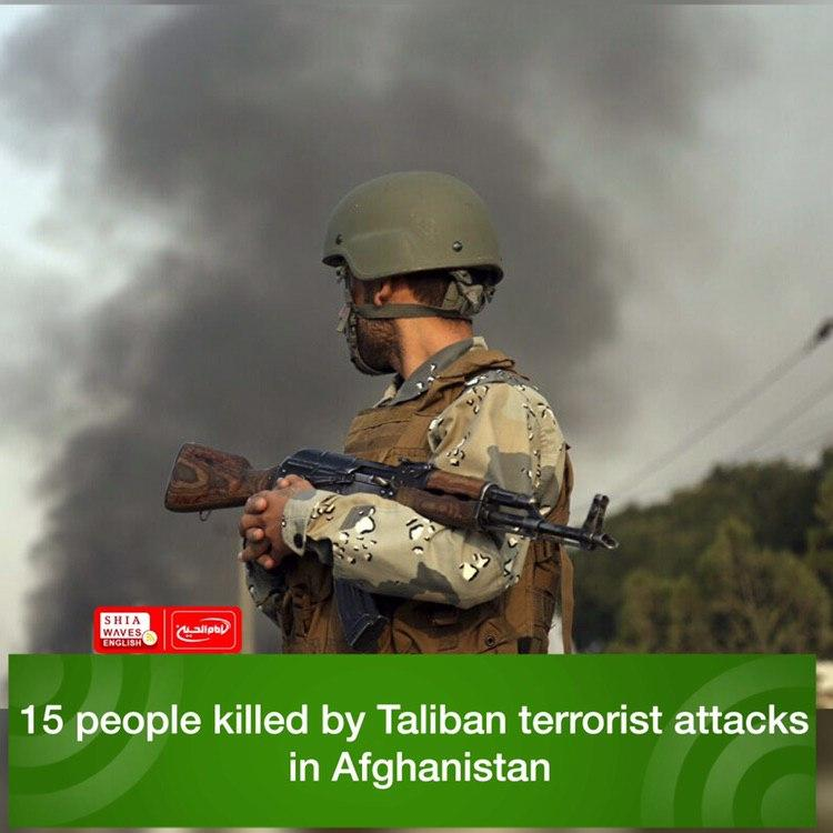 Photo of 15 people killed by Taliban terrorist attacks in Afghanistan