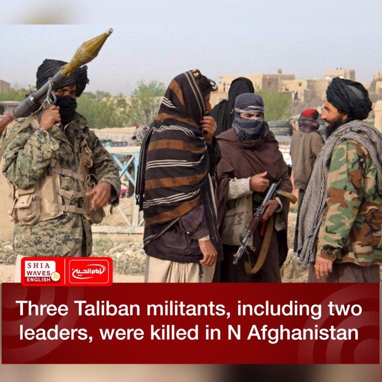 Photo of Three Taliban militants, including two leaders, were killed in N Afghanistan