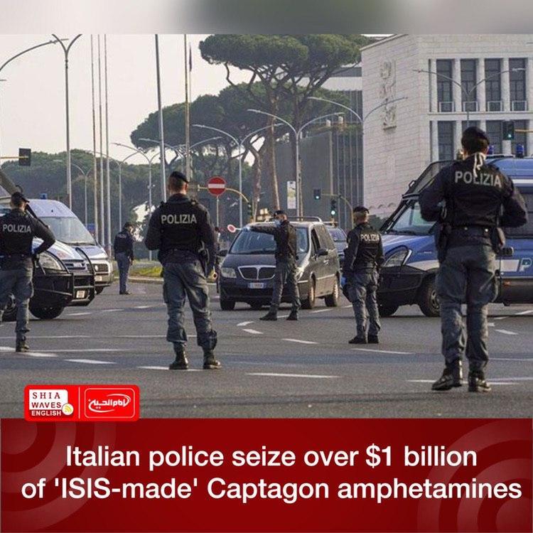 Photo of Italian police seize over $1 billion of 'ISIS-made' Captagon amphetamines