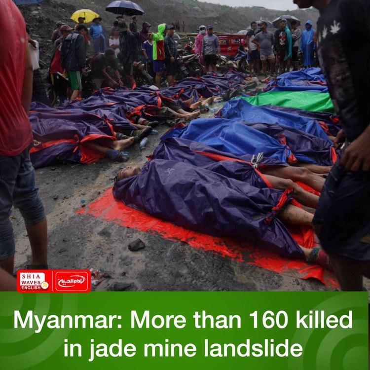 Photo of Myanmar: More than 160 killed in jade mine landslide