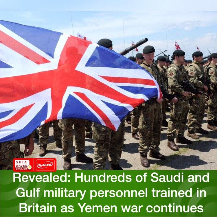 Photo of Revealed: Hundreds of Saudi and Gulf military personnel trained in Britain as Yemen war continues