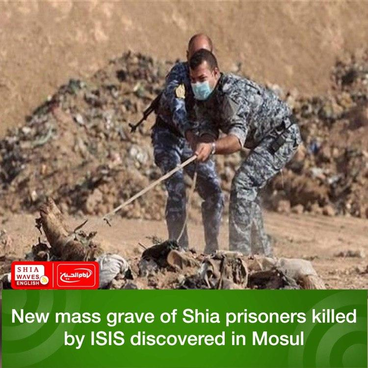 Photo of New mass grave of Shia prisoners killed by ISIS discovered in Mosul