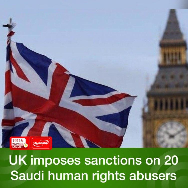 Photo of UK imposes sanctions on 20 Saudi human rights abusers