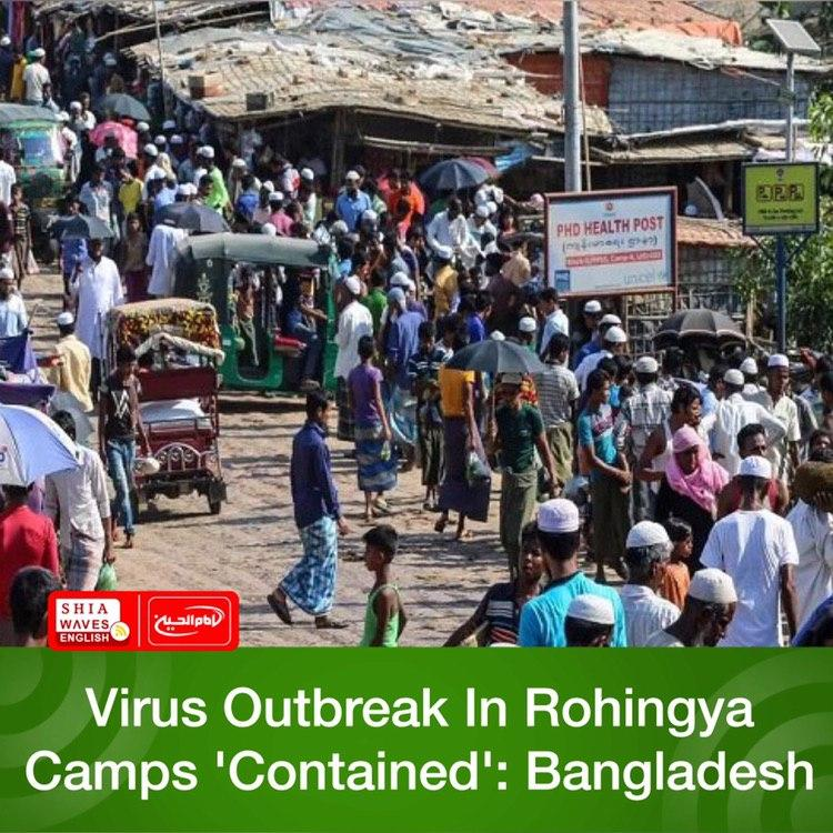 Photo of Virus Outbreak In Rohingya Camps 'Contained': Bangladesh