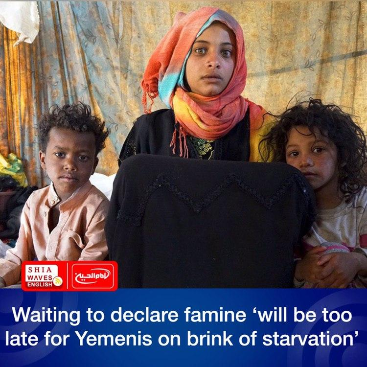 Photo of Waiting to declare famine 'will be too late for Yemenis on brink of starvation'