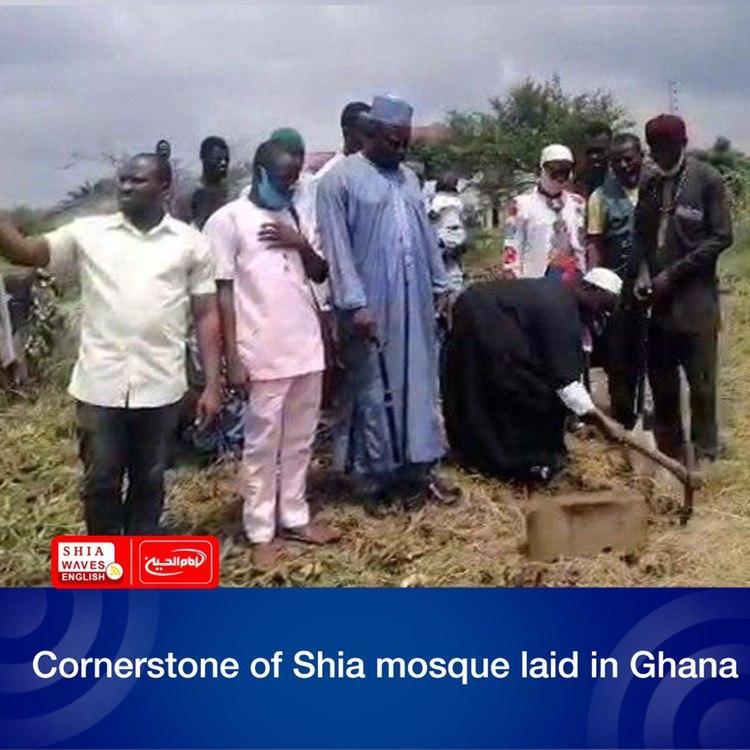 Photo of Cornerstone of Shia mosque laid in Ghana