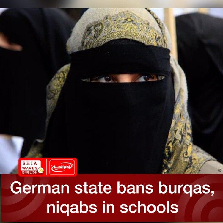 Photo of German state bans burqas, niqabs in schools