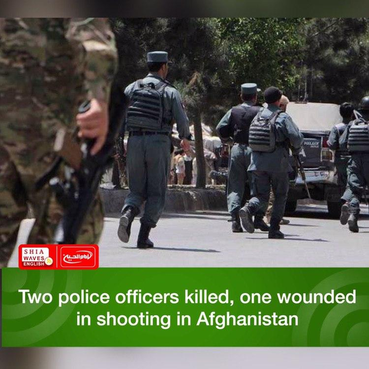 Photo of Two police officers killed, one wounded in shooting in Afghanistan