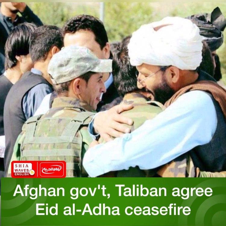 Photo of Afghan gov't, Taliban agree Eid al-Adha ceasefire