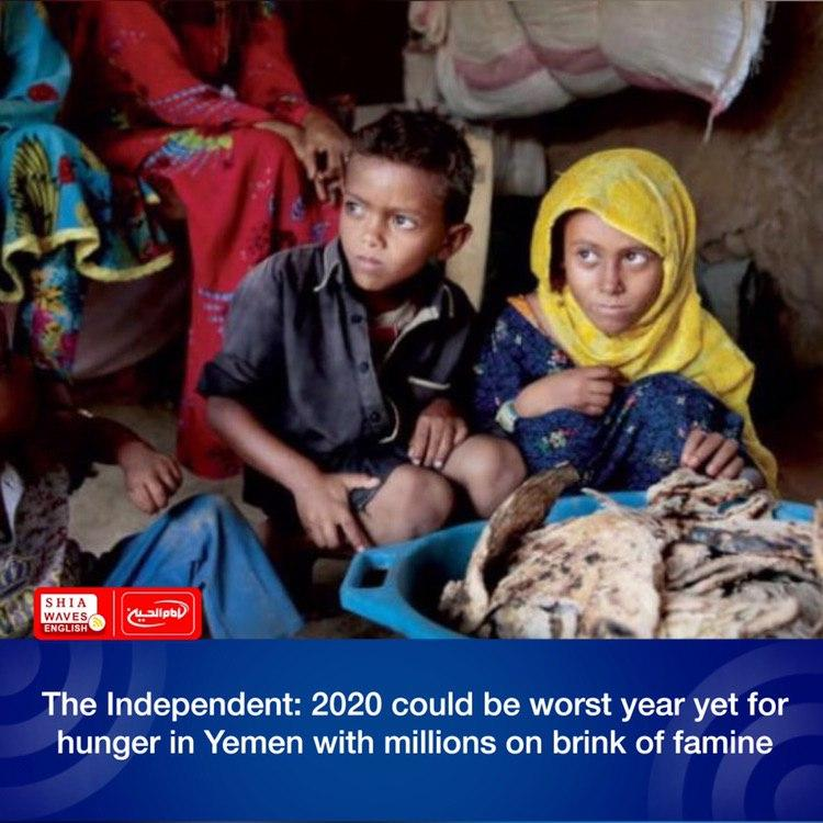 Photo of The Independent: 2020 could be worst year yet for hunger in Yemen with millions on brink of famine