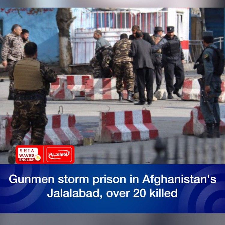 Photo of Gunmen storm prison in Afghanistan's Jalalabad, over 20 killed