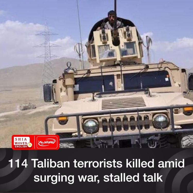 Photo of 114 Taliban terrorists killed amid surging war, stalled talk
