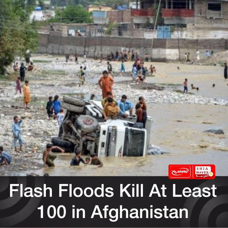 Photo of Flash Floods Kill At Least 100 in Afghanistan