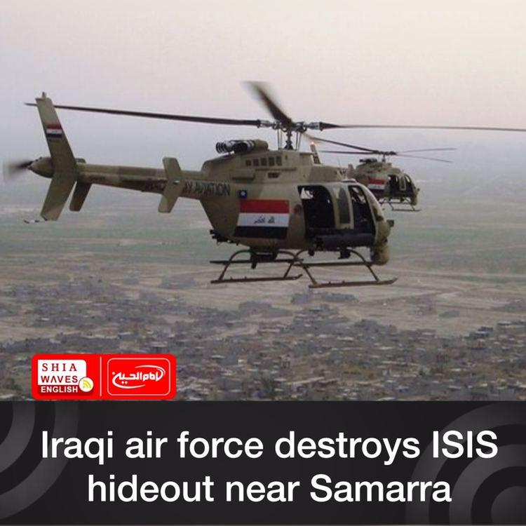 Photo of Iraqi air force destroys ISIS hideout near Samarra