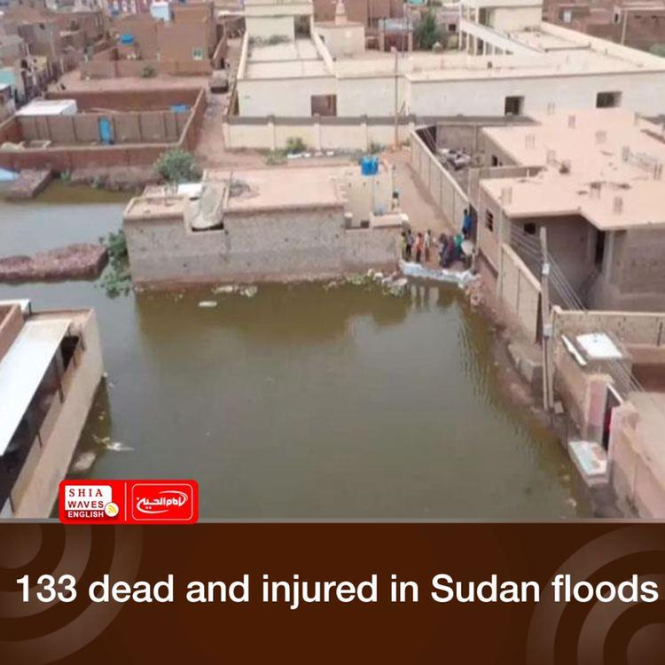 Photo of 133 dead and injured in Sudan floods