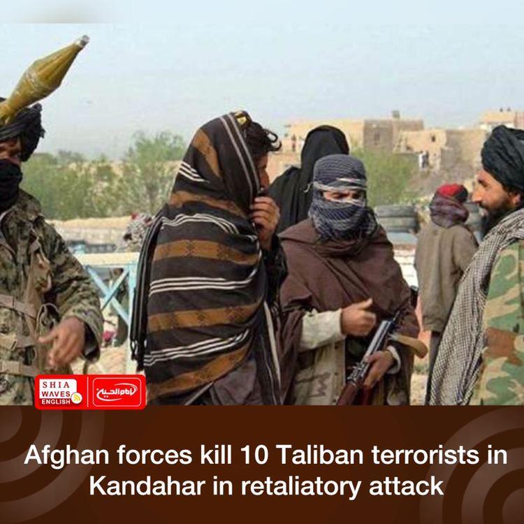 Photo of Afghan forces kill 10 Taliban terrorists in Kandahar in retaliatory attack