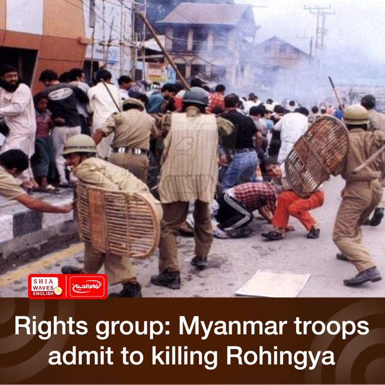 Photo of Rights group: Myanmar troops admit to killing Rohingya