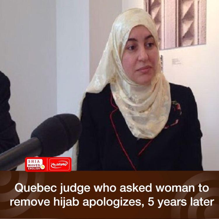 Photo of Quebec judge who asked woman to remove hijab apologizes, 5 years later