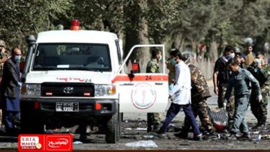 Photo of At least 26 people were killed and wounded in two explosions in Afghanistan