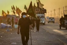 Photo of Millions continue to march towards the holy city of Karbala to commemorate Arbaeen