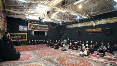 Photo of Commemorating anniversary of martyrdom of Imam Hassan in House of Ayatollah Shirazi