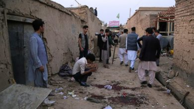 Photo of At least 18 dead in suicide bomb attack in Kabul