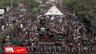 Photo of Hundreds of thousands of Pakistanis gathered to commemorate the immortal Arbaeen Pilgrimage