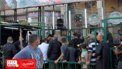 Photo of Service tents of Shirazi Religious Authority received thousands of pilgrims during Arbaeen