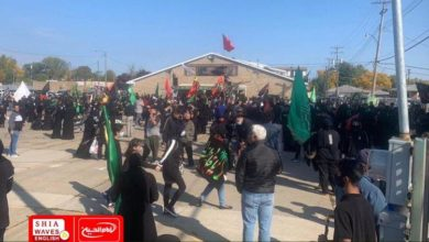 Photo of Thousands of mourners commemorate Arbaeen in Michigan, USA