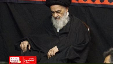 Photo of Grand Ayatollah Shirazi sends condolences for the martyrdom anniversary of Prophet Muhammad and thanks the participants in commemorating Arbaeen