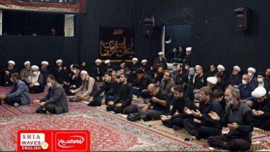 Photo of Martyrdom anniversary of Imam Redha commemorated in the house of Grand Ayatollah Shirazi