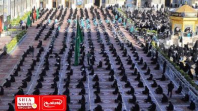 Photo of Thousands of pilgrims arrive at Imam al-Redha Holy Shrine to commemorate his martyrdom anniversary