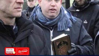 Photo of Swedish youths set fire to the Holy Quran in yet another act of desecrating Muslims' Holy Book