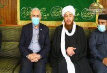 Photo of Delegation of the Kasnazani Sufi order visits al-Kadhumain Holy Shrine