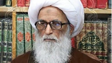 Photo of Grand Ayatollah al-Najafi warns of insulting the Messenger and criticizes France's ambivalence