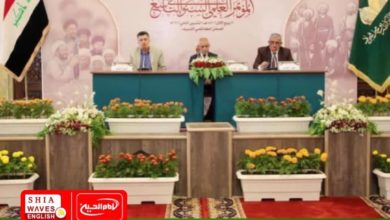 Photo of Al-Kadhumiya Holy Shrine concludes the activities of the centenary conference of the twentieth revolution