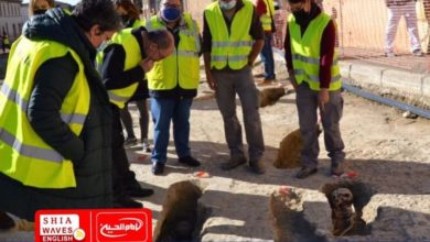 Photo of Spanish road workers discover ancient Muslim burial site