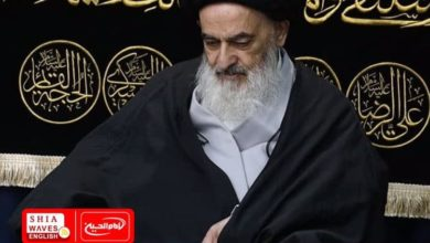 Photo of Commemoration of the martyrdom anniversary of Fatima al-Zahraa in the house of Grand Ayatollah Shirazi