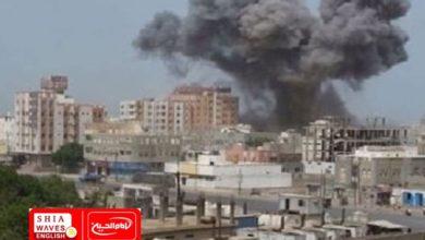 Photo of Saudi coalition launches hundreds of raids on a number of Yemeni provinces
