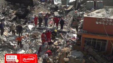 Photo of Nine Yemenis wounded by Saudi bombing in Saada