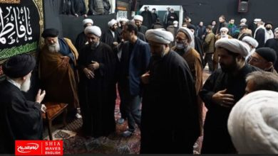 Photo of Fatimid mourning ceremonies in the house of Shirazi Religious Authority