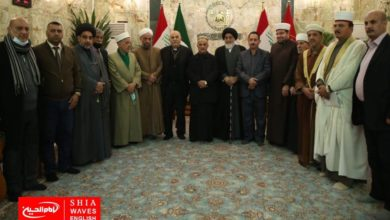 Photo of Representatives of sects and religions meet in the Holy Shrine of Imam Hussain