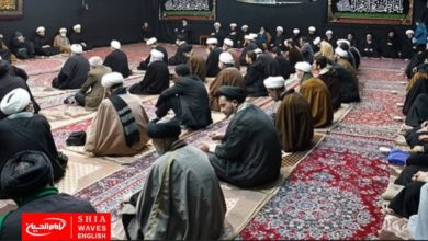 Photo of Fatimid mourning ceremonies conclude in the house of Grand Ayatollah Shirazi