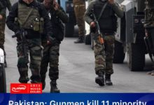 Photo of Pakistan: Gunmen kill 11 minority Hazara coal miners in Baluchistan