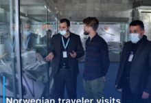 Photo of Norwegian traveler visits the two holy shrines in Karbala
