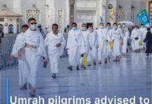 Photo of Umrah pilgrims advised to take covid-19 vaccine