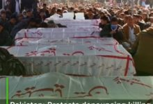 Photo of Pakistan: Protests denouncing killing of Hazara workers continue