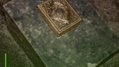 Photo of Sweden: Metal Quran sculpture found inside a park in Malmö