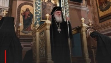 Photo of Greek Muslims condemn the Archbishop's insult to their religion