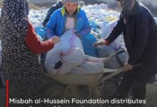 Photo of Misbah al-Hussein Foundation distributes tens of tons of fuel to the poor in the Afghan city of Mazar-i-Sharif